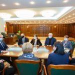 FB POST: Președintele Igor Dodon și-a luat rămas bun de la consilierii săi prezidențiali